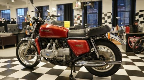 1975 Honda Gold Wing Candy Antares Red craigslist