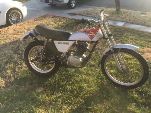 1975 Honda TL 125 Silver for sale