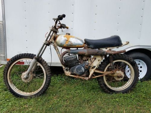 1975 Husqvarna 125 WR Yellow for sale