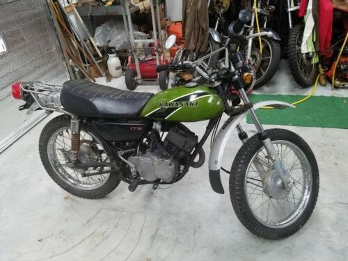 1975 Kawasaki F7 Green for sale craigslist