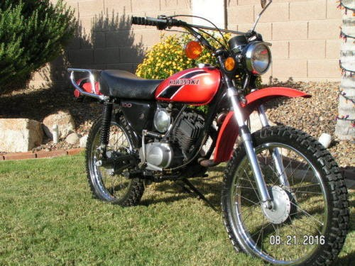1975 Kawasaki G5 Red for sale craigslist