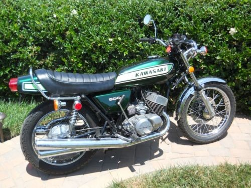 1975 Kawasaki Mach III Green for sale