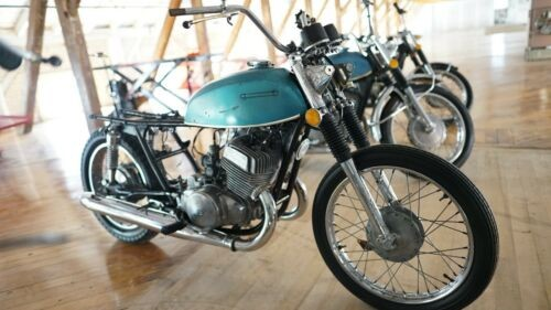 1975 Suzuki T500M Titan Blue for sale