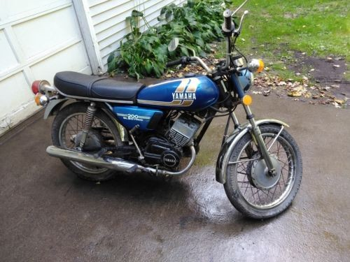 1975 Yamaha Other Blue for sale craigslist
