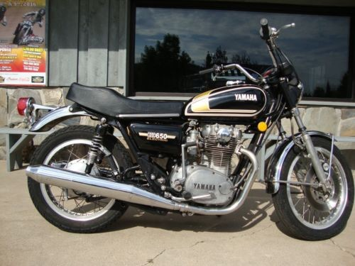 1975 Yamaha XS Black for sale craigslist