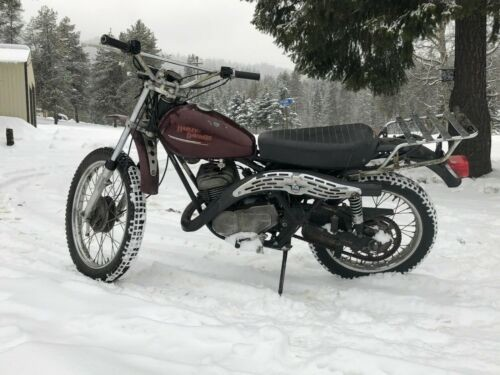 1976 Harley-Davidson SX250 Burgundy for sale craigslist