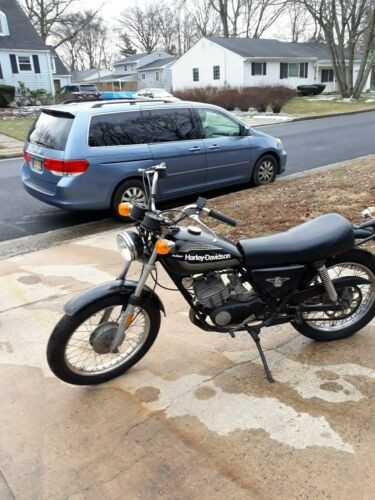 1976 Harley-Davidson Street black for sale craigslist