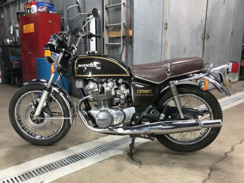 1976 Honda CB GLORY BROWN METALLIC photo