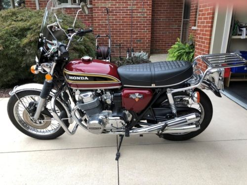 1976 Honda CB Red for sale craigslist