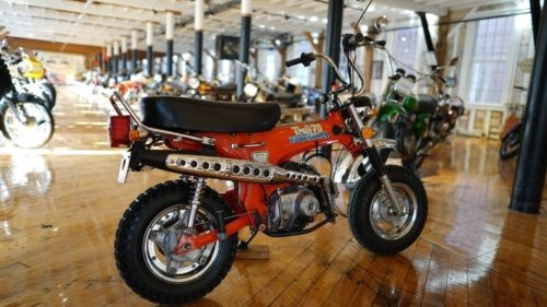 1976 Honda CT Orange for sale craigslist