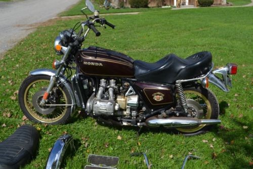 1976 Honda Gold Wing Burgundy for sale craigslist
