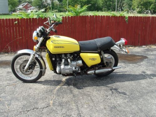 1976 Honda Gold Wing Yellow craigslist