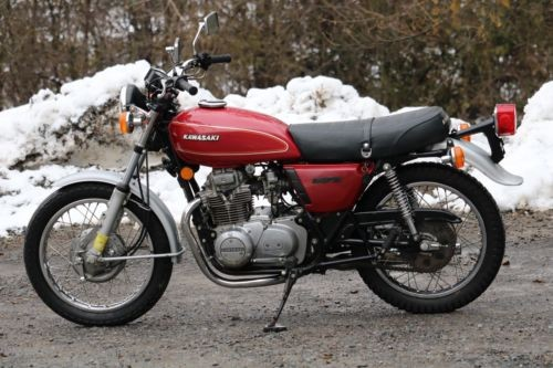 1976 Kawasaki KZ400 TWIN Red for sale craigslist
