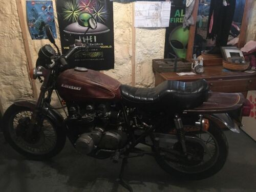 1976 Kawasaki KZ900-A4 Brown for sale craigslist