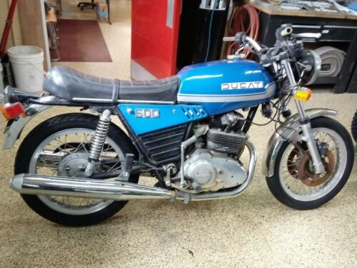 1977 Ducati 500 GTL Blue for sale