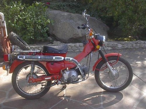 1977 Honda CT Red photo