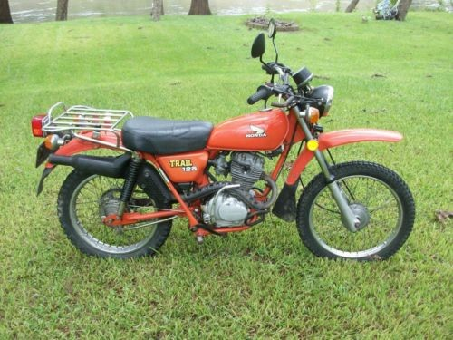 1977 Honda CT125 Red photo
