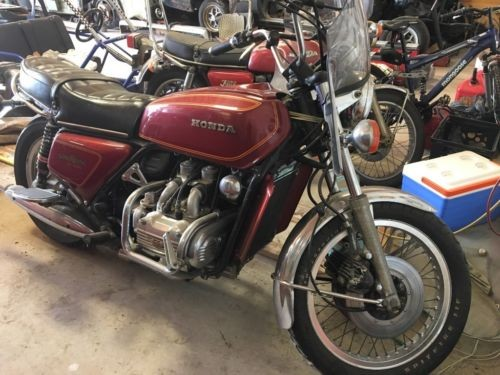1977 Honda Gold Wing Red for sale
