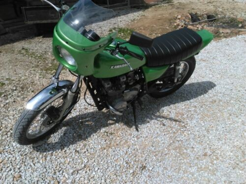 1977 Kawasaki KZ Green for sale craigslist