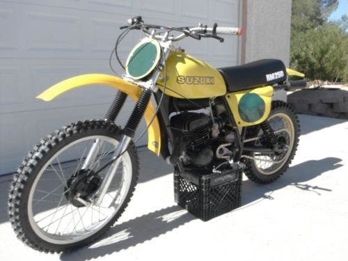 1977 Suzuki RM Yellow for sale