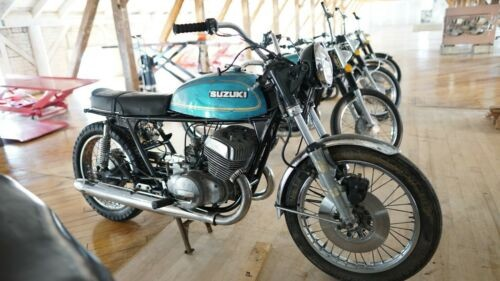 1977 Suzuki T500R Blue for sale