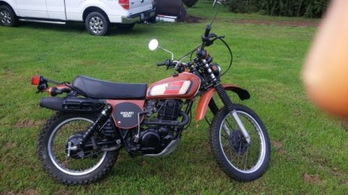 1977 Yamaha XT Brown for sale craigslist