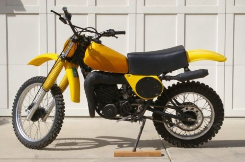 1977 Yamaha YZ Yellow for sale