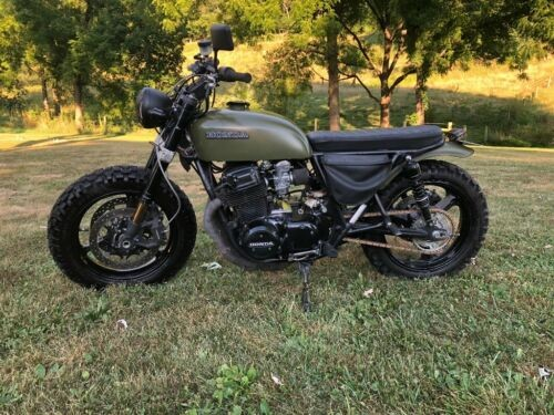 1978 Honda CB Green for sale craigslist