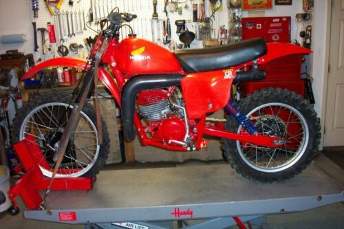 1978 Honda CR Tahitian red for sale craigslist