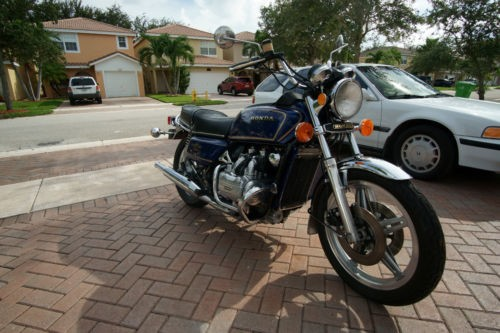 1978 Honda Gold Wing Blue for sale craigslist
