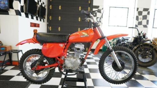 1978 Honda XR Red photo
