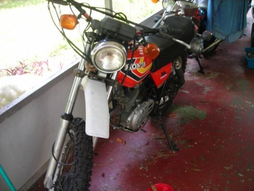 1978 Honda xl250s Red for sale craigslist