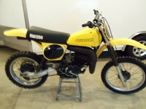 1978 Suzuki RM Yellow for sale