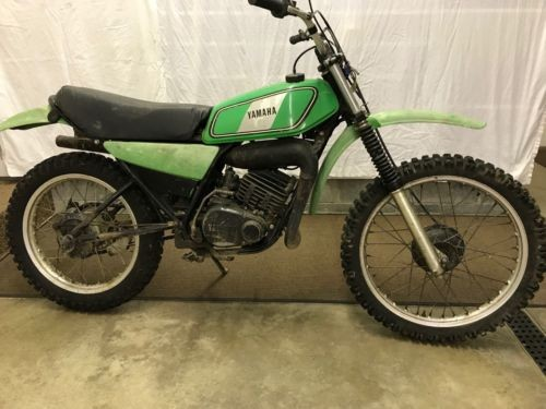 1978 Yamaha DT125E GREEN for sale