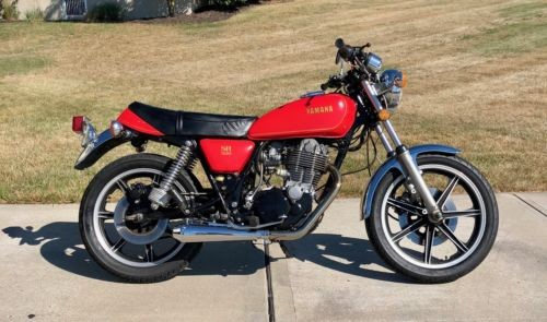 1978 Yamaha SR500 Red for sale