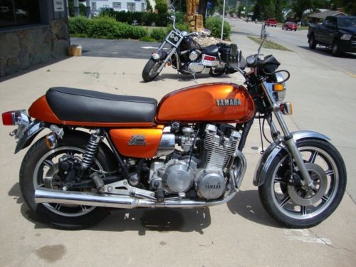 1978 Yamaha XS Orange for sale craigslist