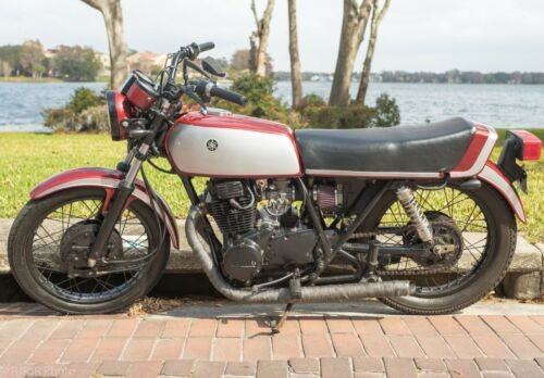 1978 Yamaha XS Silver and Burgundy for sale craigslist