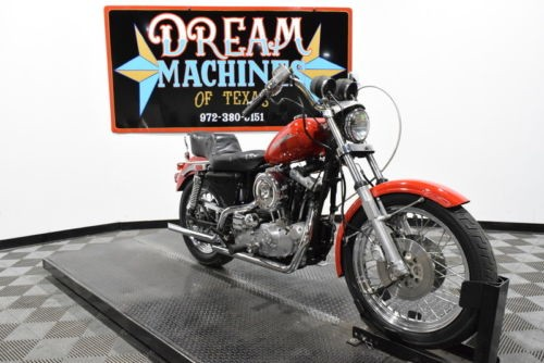 1979 Harley-Davidson XLH1000 - Sportster Ironhead Managers Special -- Red for sale craigslist