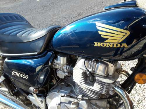 1979 Honda 400 CMT Blue photo