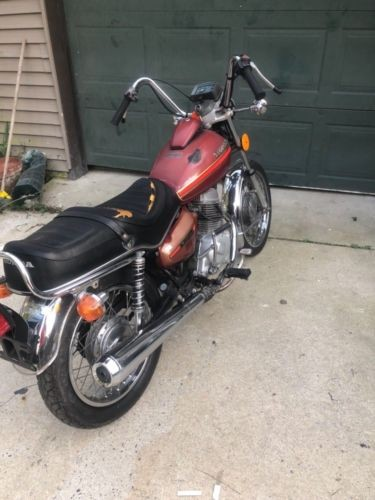 1979 Honda CM185 twinstar Burgundy for sale