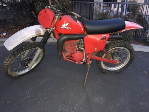 1979 Honda CR Red for sale