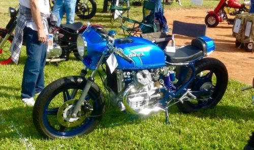 1979 Honda CX500D Bubble Blue for sale