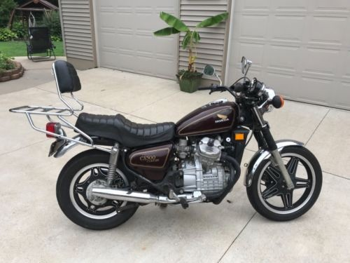 1979 Honda Cx500 Burgundy for sale