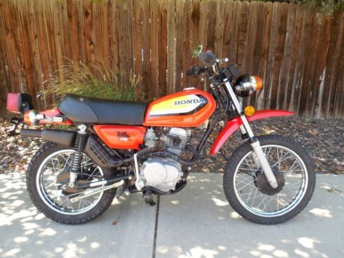 1979 Honda XL75 Tahitian Red for sale