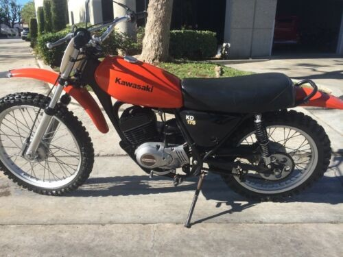 1979 Kawasaki KD175A Orange for sale craigslist
