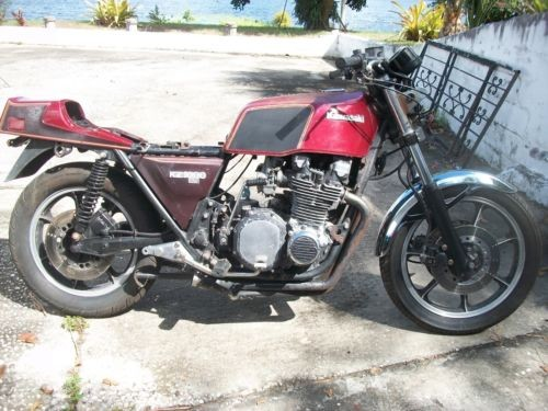 1979 Kawasaki KZ1000-E1 ST Red for sale