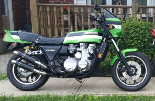 1979 Kawasaki KZ1300 Green for sale