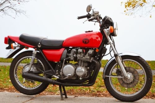 1979 Kawasaki KZ650-B3 Red for sale craigslist