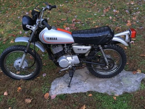 1979 Yamaha GT 80 Silver for sale