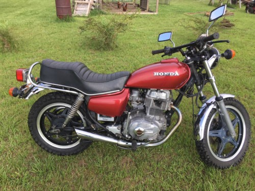 1980 Honda CM400A HondaMatic Red for sale